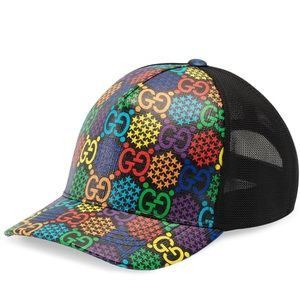 Gucci GG Psychedelic Baseball Cap Hat XL